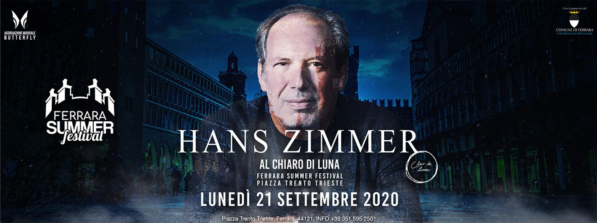 HANS ZIMMER Tributo Lunare – Lunedì 21 Settembre 2020