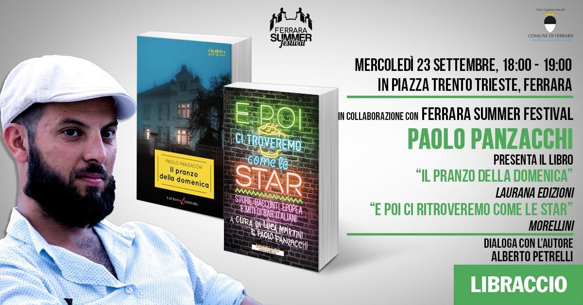 """Paolo Panzacchi presenta """"Il pranzo della domenica"""""""