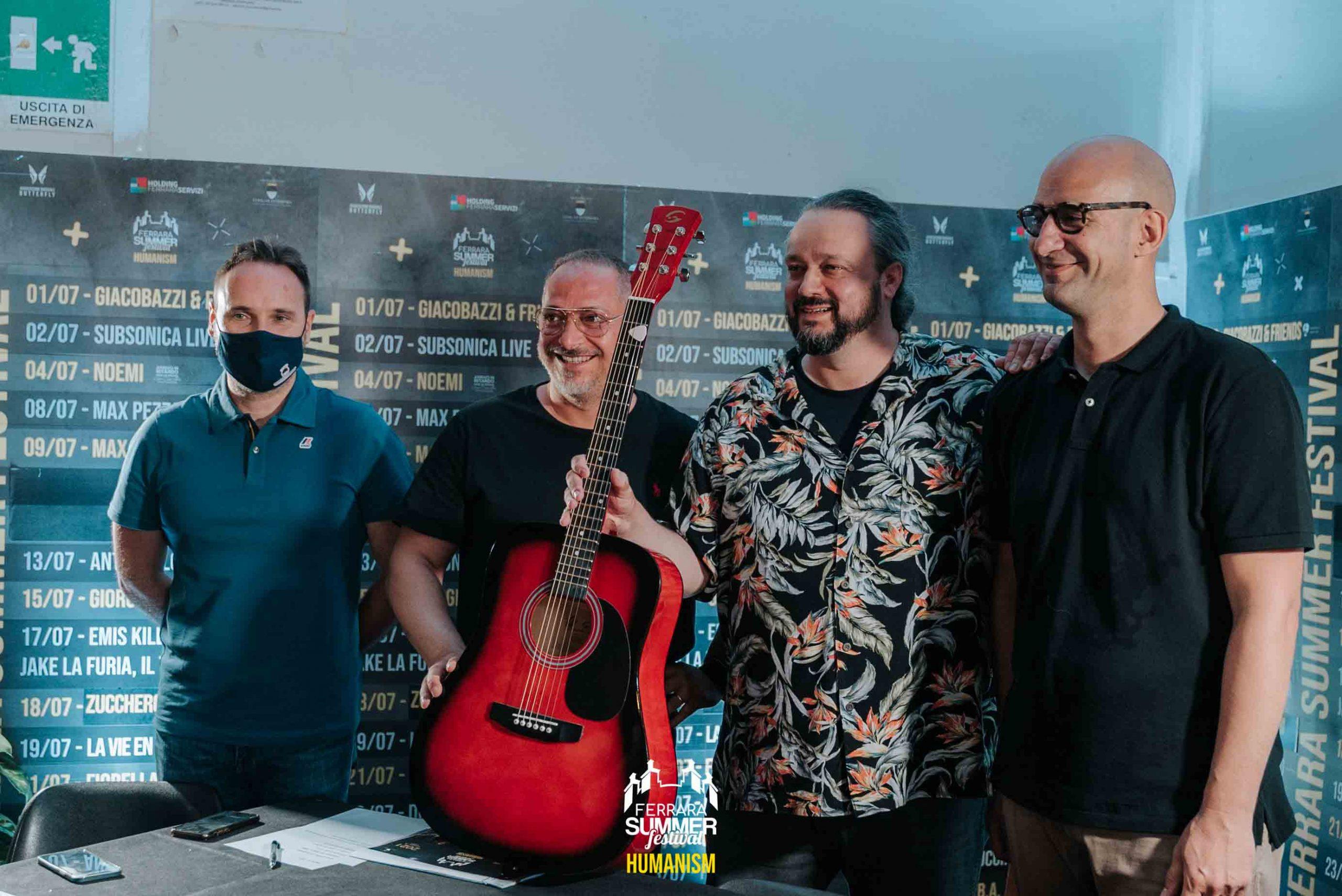 CONFERENZA STAMPA – Ferrara Summer Festival 2021