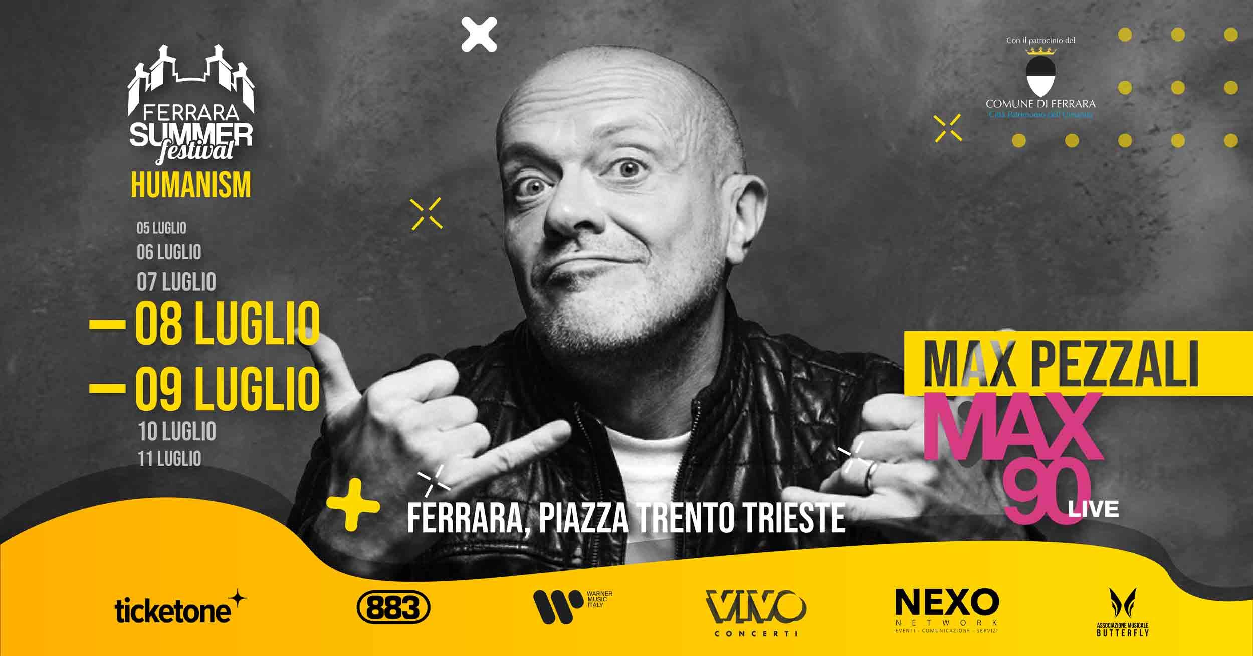 """""""MAX PEZZALI"""" – 08/09 Luglio 2021"""